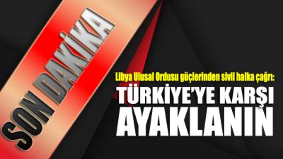 Tezkerenin geçmesinin ardından Türk askerine karşı ayaklanma çağrısı