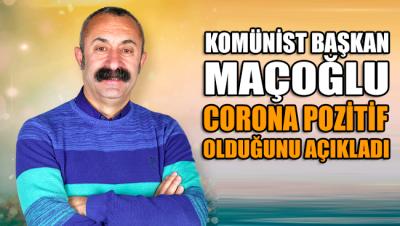 Tunceli Belediye Başkanı Mehmet Fatih Maçoğlu corona pozitif çıktı