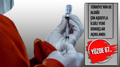 Türkiye'nin de aldığı Çin aşısıyla ilgili yeni sonuçlar açıklandı: Yüzde 67…