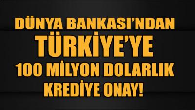 Türkiye'nin, Dünya Bankası'ndan talep ettiği 100 milyon dolarlık corona kredisine onay çıktı