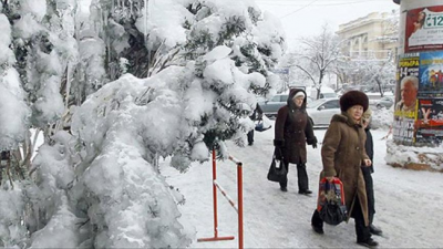 Ukrayna'da bir Türk donarak öldü!