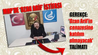 Ülkü Ocakları'nda Ozan Arif istifası