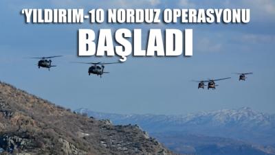 Van'da 'Yıldırım-10 Norduz Operasyonu' başlatıldı