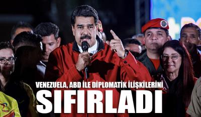 Venezuela, ABD ile diplomatik ilişkilerini sıfırladı
