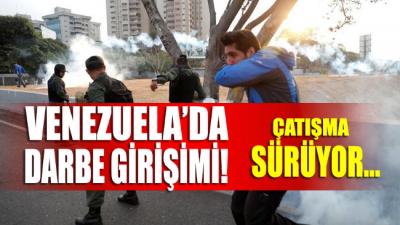 Venezuela'da darbe girişimi