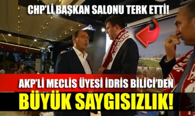 Yardım yemeğinde büyük saygısızlık! Kadıköy Belediye Başkanı kürsüde konuşturulmadı