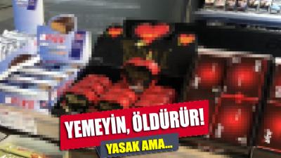 Yasak ama İstanbul'da her köşebaşında satılıyor!
